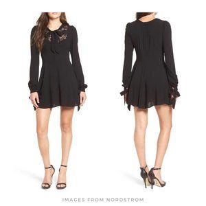 For Love & Lemons ▪ Ellery Black Lace Mini Dress